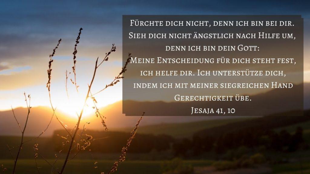 Jesaja 41 10